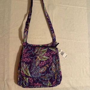 NWT Vera Bradley mailbag batik leaf hipster purse